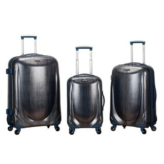 Rockland Hyperspace 3-piece Lightweight Hardside Spinner Upright Luggage Set