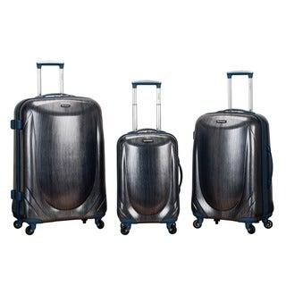 Rockland Hyperspace 3-piece Lightweight Hardside Spinner Upright Luggage Set