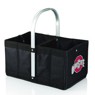 Black 'Ohio State Buckeyes' Digital Print Urban Picnic Basket