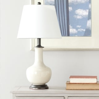 Safavieh Lighting 22-inch Danielle Cream Table Lamp (Set of 2)
