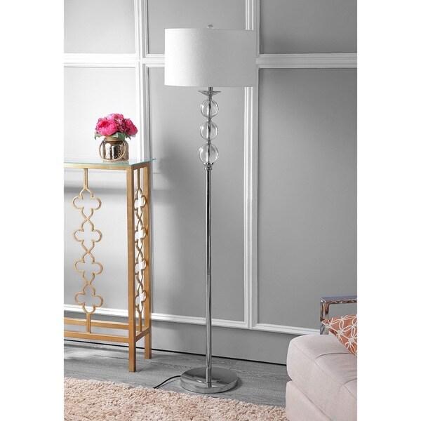 Safavieh Lighting 62-inch Pippa Glass Globe Floor Lamp