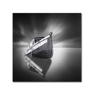 Moises Levy 'My Boat III' Canvas Art