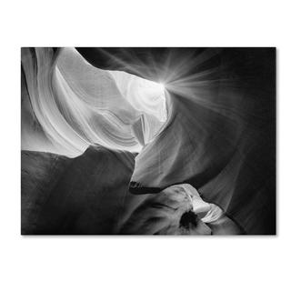 Moises Levy 'Searching Light IV' Canvas Art