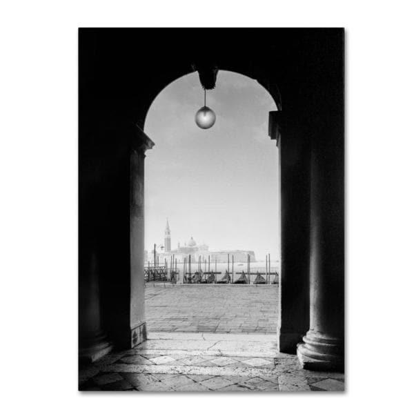 Moises Levy 'Venetia View' Canvas Art