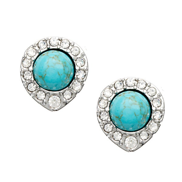 ABS Turquoise Stud Earrings