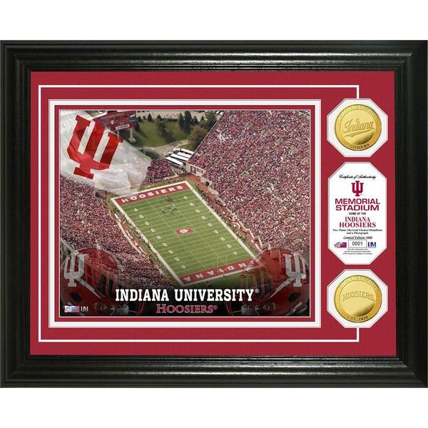 Indiana University Stadium Gold Coin Photo Mint