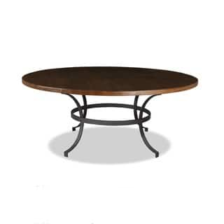 'Tahoe' Wrought Iron Reclaimed Wood Round Dining Table|https://ak1.ostkcdn.com/images/products/8359523/P15667317.jpg?impolicy=medium