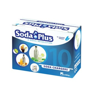Soda Plus CO2 Carbonizing Cartridges (Pack of 100)