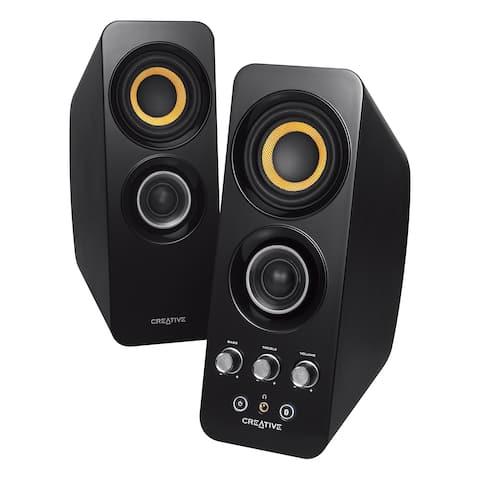 Creative T30W 2.0 Speaker System - Wireless Speaker(s) - Black MF1655