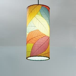 Eangee floor lamps for less overstock handmade eangee cocoa leaf cylinder pendant philippines aloadofball Gallery
