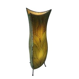 Eangee floor lamps for less overstock eangee green flower bud large floor lamp aloadofball Images