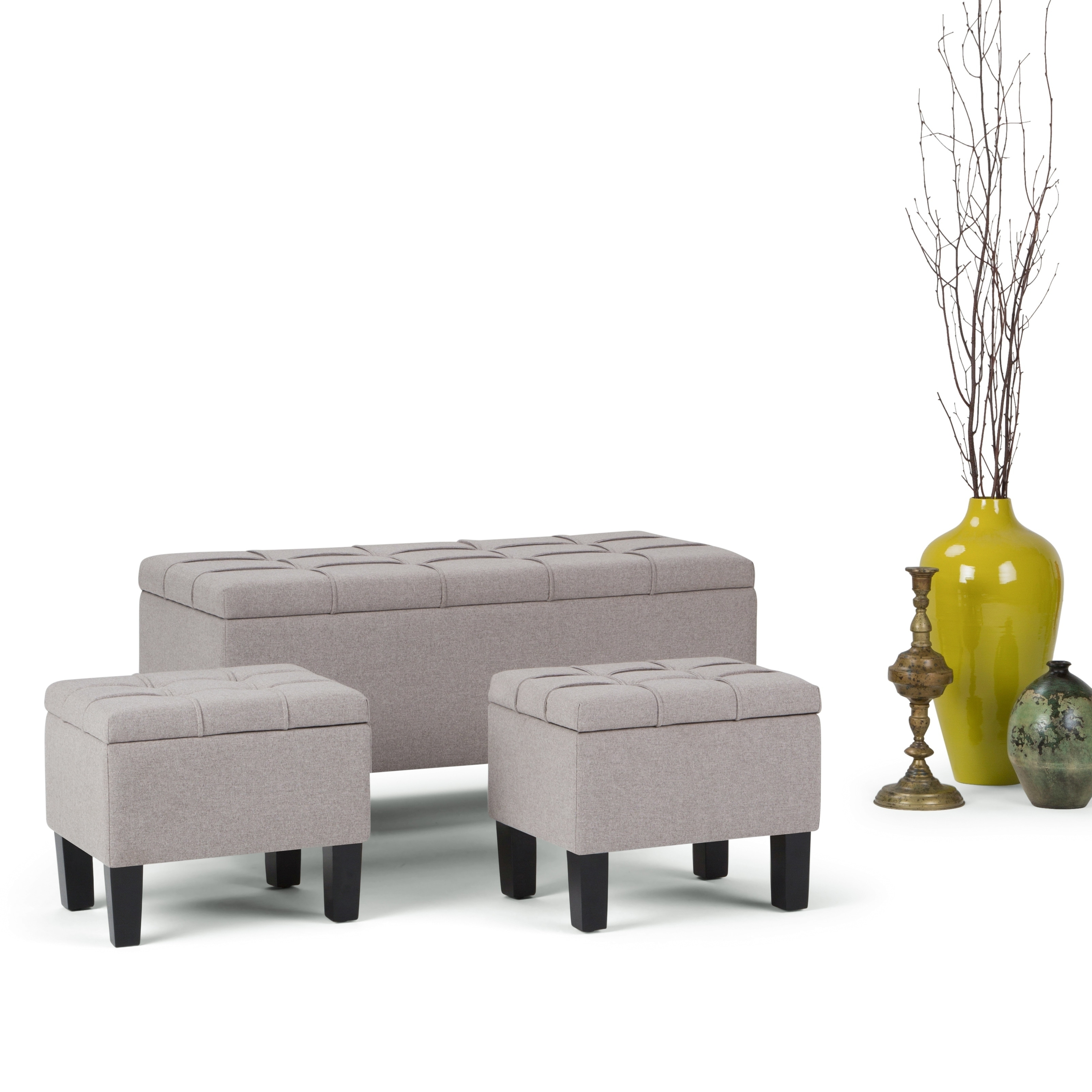 Wondrous Details About Wyndenhall Lancaster 44 Inch Wide Contemporary Storage Medium Camellatalisay Diy Chair Ideas Camellatalisaycom