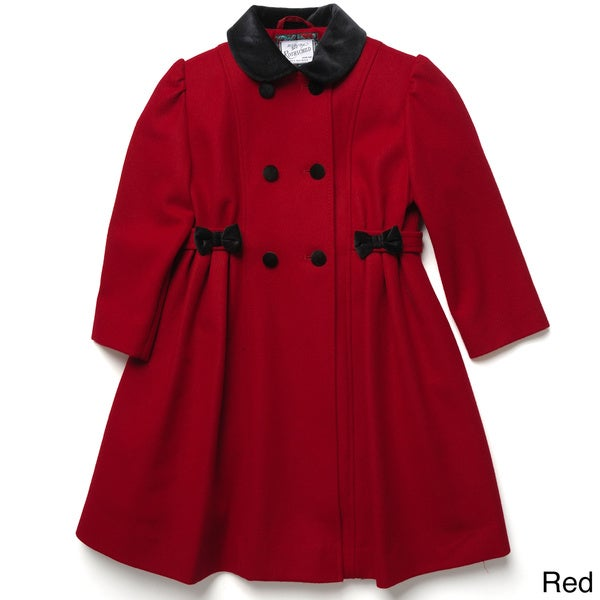 Rothschild Girl's Double Breasted Dress Coat