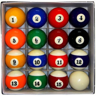 Link to Hathaway Pool Table Regulation Billiard Ball Set Similar Items in Billiards & Pool