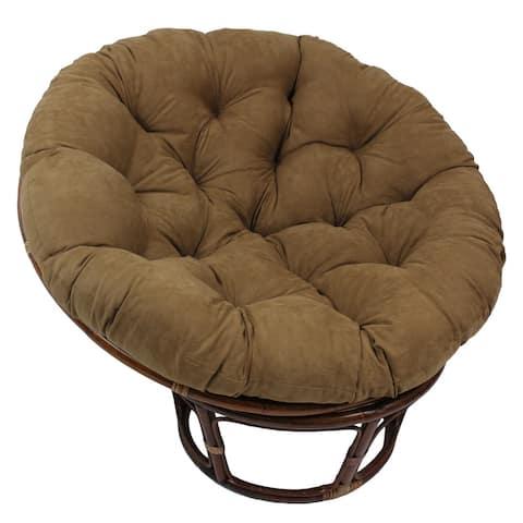 Blazing Needles 44-inch Microsuede Papasan Cushion