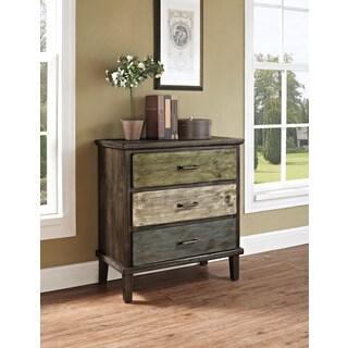 Avenue Greene Sage 3-drawer Storage Table