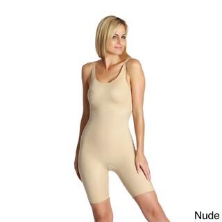 InstantFigure Women's Open Gusset Shapewear Bodyshorts