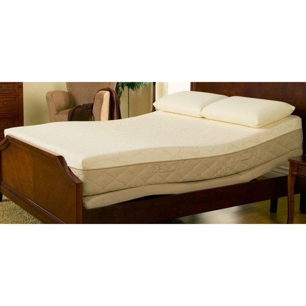 Sleep Zone 10-inch Hybrid Queen-size Memory Foam Mattress