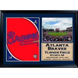 MLB Atlanta Braves Turner Field Photo Stat Frame