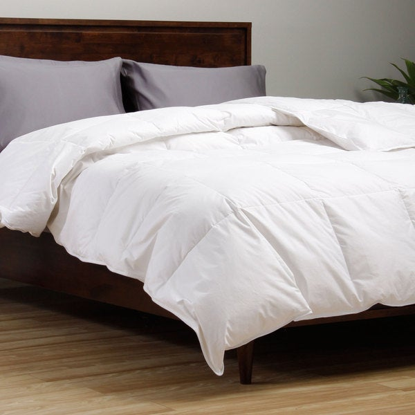 Hotel Madison Classic All-season White Down Comforter