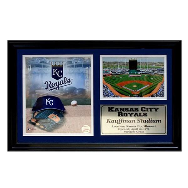 MLB Kansas City Royals Kauffman Stadium Photo Stat Frame