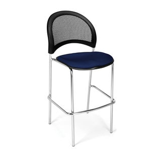 OFM 338C Chrome Moon Series Cafe Chair (Pack of 2)