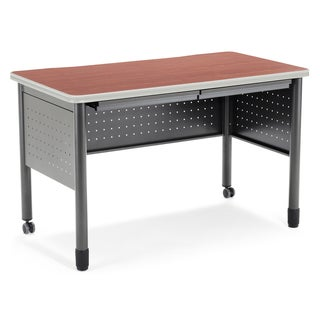 OFM Cherry Finish 47-inch Training Table