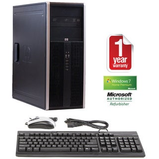 HP Compaq 8000 Intel Core 2 Duo 3.0GHz CPU 4GB RAM 320GB HDD Windows 10 Home Minitower Computer (Refurbished)