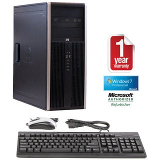 HP Compaq 8000 Intel Core 2 Duo 3.0GHz CPU 4GB RAM 500GB HDD Windows 10 Pro Minitower Computer (Refurbished)