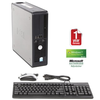 Dell Optiplex 745 Intel Dual Core 1.8GHz CPU 2GB RAM 80GB HDD Windows 10 Home Small Form Factor Computer (Refurbished)