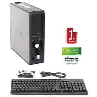 Dell Optiplex 745 Intel Dual Core 1.8GHz CPU 4GB RAM 160GB HDD Windows 10 Home Small Form Factor Com