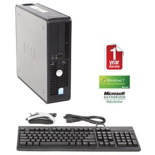 Dell Optiplex 745 Intel Dual Core 1.8GHz CPU 4GB RAM 160GB HDD Windows 10 Home Small Form Factor Com