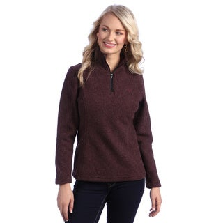 Stormy Kromer Women's 'The Woolover' Quarter-zip Jacket