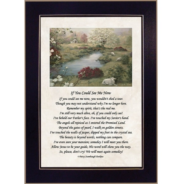 """""""If You Could See Me Now"""" By Glynda Turley, Ready to Hang Framed Wall Art, Black Frame. Opens flyout."""