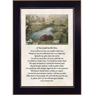 """""""If You Could See Me Now"""" by Glynda Turley Printed Framed Wall Art"""