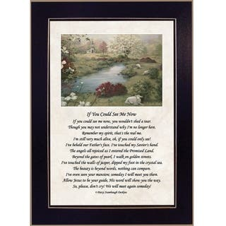 """""""If You Could See Me Now"""" By Glynda Turley, Printed Wall Art, Ready To Hang Framed Poster, Black Frame"""