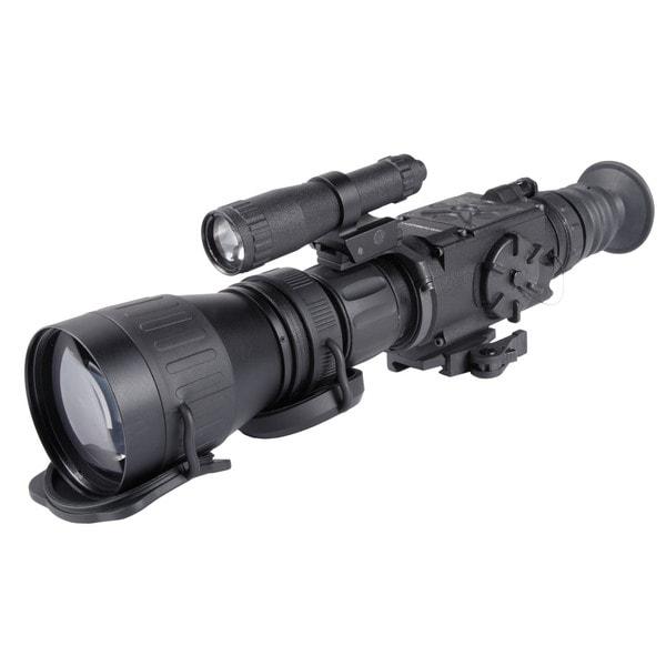 Armasight Drone Pro 10X Digital Night Vision Rifle Scope Resolution 752x582 with XLR-IR850 X-Long Range Infrared Illuminator
