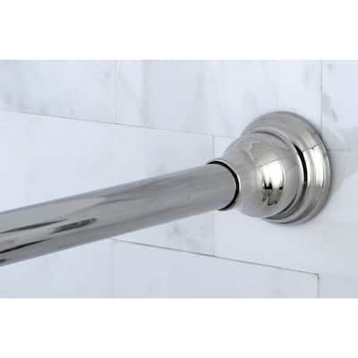 Chrome Adjustable Shower Curtain Rod