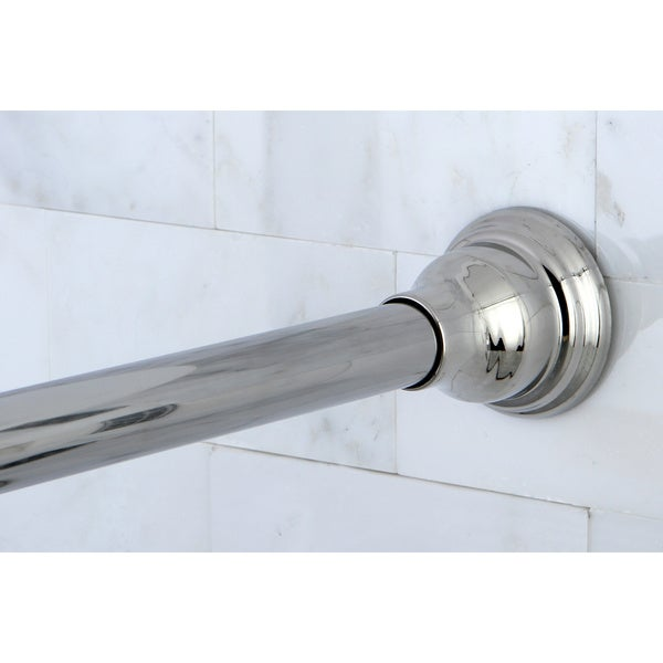 Chrome Adjustable Shower Curtain Rod Free Shipping On