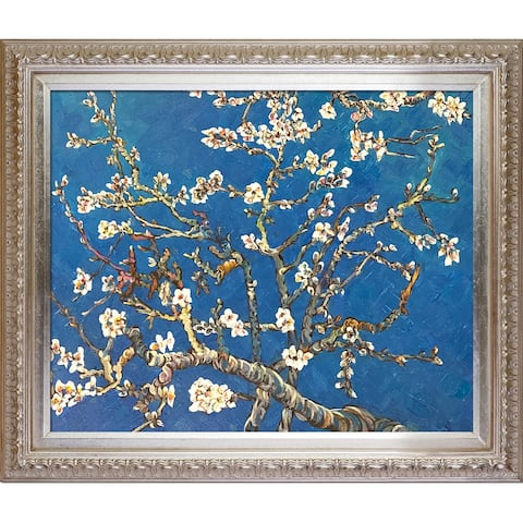 Van Gogh 'Branches of an Almond Tree' Hand Painted Oil Reproduction