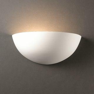 Quarter Sphere Ceramic Sconce