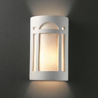 Multi Directional Arch Window Ceramic Sconce
