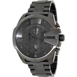 Diesel Men's Grey Stainless Steel and Grey Dial Analog Quartz Watch|https://ak1.ostkcdn.com/images/products/8362188/8362188/Diesel-Mens-Grey-Stainless-Steel-and-Grey-Dial-Analog-Quartz-Watch-P15669628.jpg?impolicy=medium