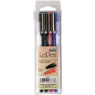 Le Pen .03mm Point Pen (Pack of 4)