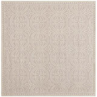 safavieh handmade cambridge moroccan light pink ivory rug 4u0027 square