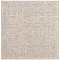 Safavieh Handmade Cambridge Moroccan Light Pink/ Ivory Rug - 4' x 4'