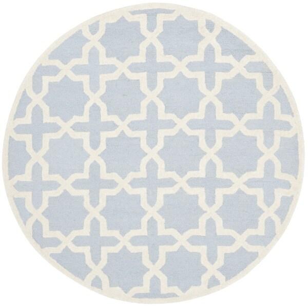 Shop Safavieh Handmade Moroccan Cambridge Light Blue