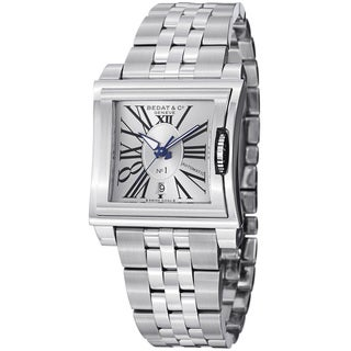 Bedat Women's 118.011.101 'No1' Silver Dial Stainless Steel Bracelet Watch