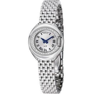 Bedat Women's 227.031.600 'No2' Silver Dial Stainless Steel Quartz Watch