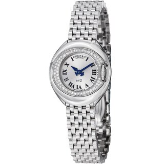 Bedat Women's 227.031.600 'No2' Silver Dial Stainless Steel Quartz Watch